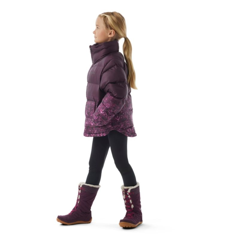 Girls' Disney Anna Puffer Jacket Girls' Disney Anna Puffer Jacket, 3/4 front