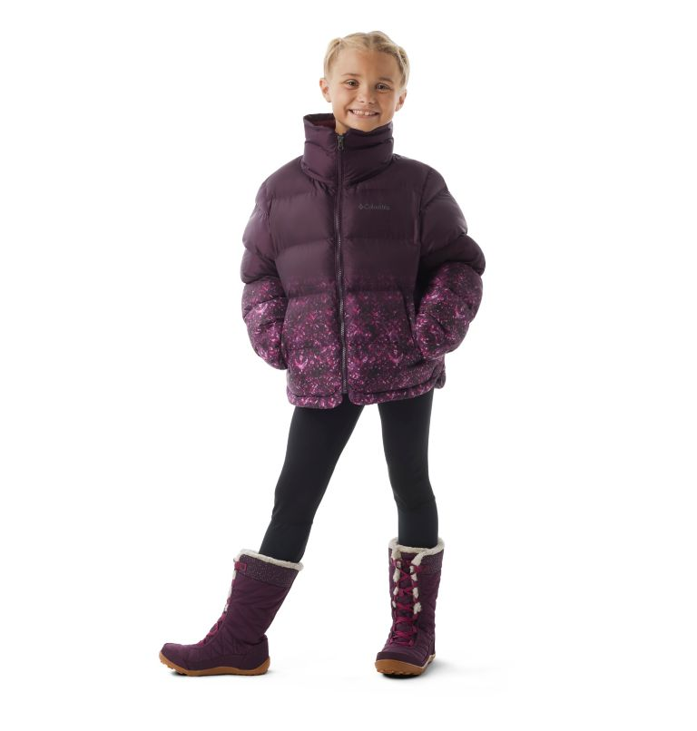 Girls' Disney Anna Puffer Jacket Girls' Disney Anna Puffer Jacket, front