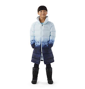 Girls' Disney Elsa Long Puffer Jacket