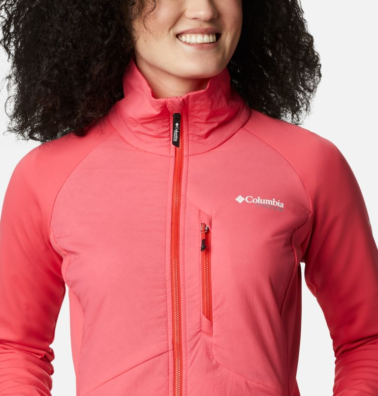 Women's Peak Pursuit™ Hybrid Midlayer Jacket Women's Peak Pursuit™ Hybrid Midlayer Jacket, a2