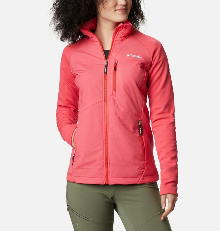 Women's Peak Pursuit™ Hybrid Midlayer Jacket Women's Peak Pursuit™ Hybrid Midlayer Jacket, front
