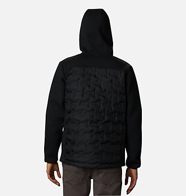 Men's Tech Trail™ Hybrid Hoodie Tech Trail™ Hybrid Hoodie | 010 | S, Black, back