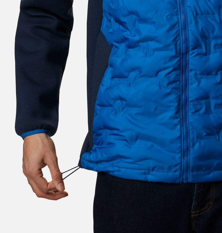 Tech Trail™ Hybrid Hoodie | 432 | XL Men's Tech Trail™ Hybrid Hoodie, Bright Indigo, a4
