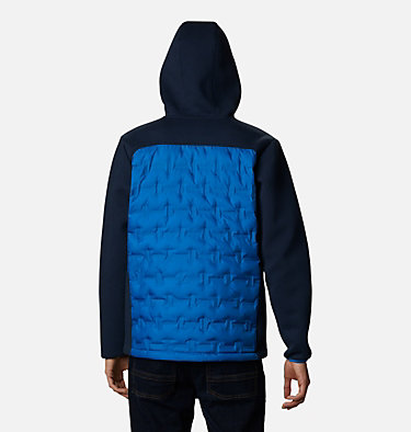 Men's Tech Trail™ Hybrid Hoodie Tech Trail™ Hybrid Hoodie | 010 | S, Bright Indigo, back