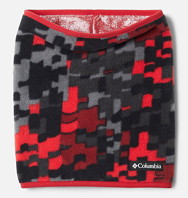 Kids' Frosty Trail™ Omni-Heat™ Gaiter Frosty Trail™ Youth Gaiter | 575 | L/XL, Mountain Red Weave, front