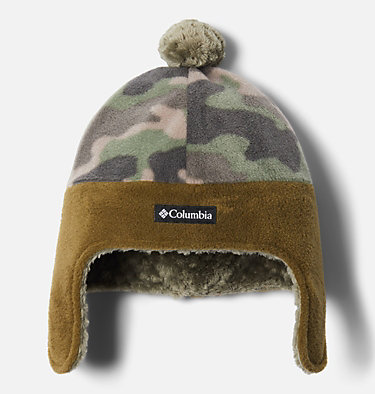 Kids' Frosty Trail™ Earflap Beanie Frosty Trail™ Youth Earflap Beanie | 010 | L/XL, Cypress Camo, Stone Green, front