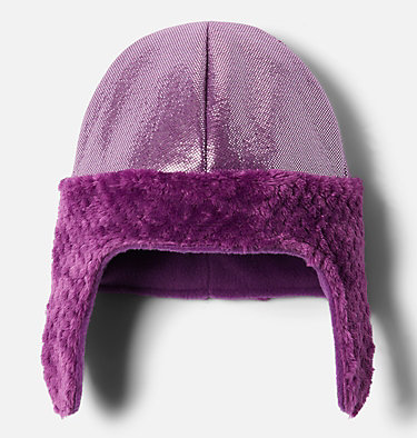 Kids' Frosty Trail™ Earflap Beanie Frosty Trail™ Youth Earflap Beanie | 010 | L/XL, Plum Leafscape, Plum, a1