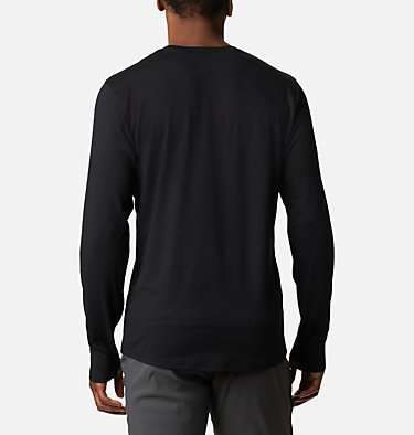 Men's Tech Trail™ Long Sleeve Crew II Shirt Tech Trail™ Long Sleeve Crew II | 432 | XL, Black, back