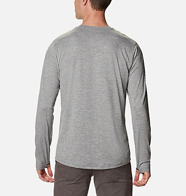 Men's Tech Trail™ Long Sleeve Crew II Shirt Tech Trail™ Long Sleeve Crew II | 432 | XL, City Grey Heather, back