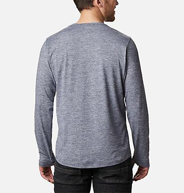 Men's Tech Trail™ Long Sleeve Crew II Shirt Tech Trail™ Long Sleeve Crew II | 432 | XL, Collegiate Navy Heather, back