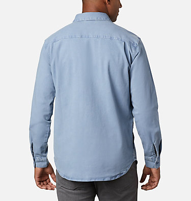 Men's Flare Gun™ Canvas Shirt Flare Gun™ Canvas Shirt | 449 | M, Bluestone, back