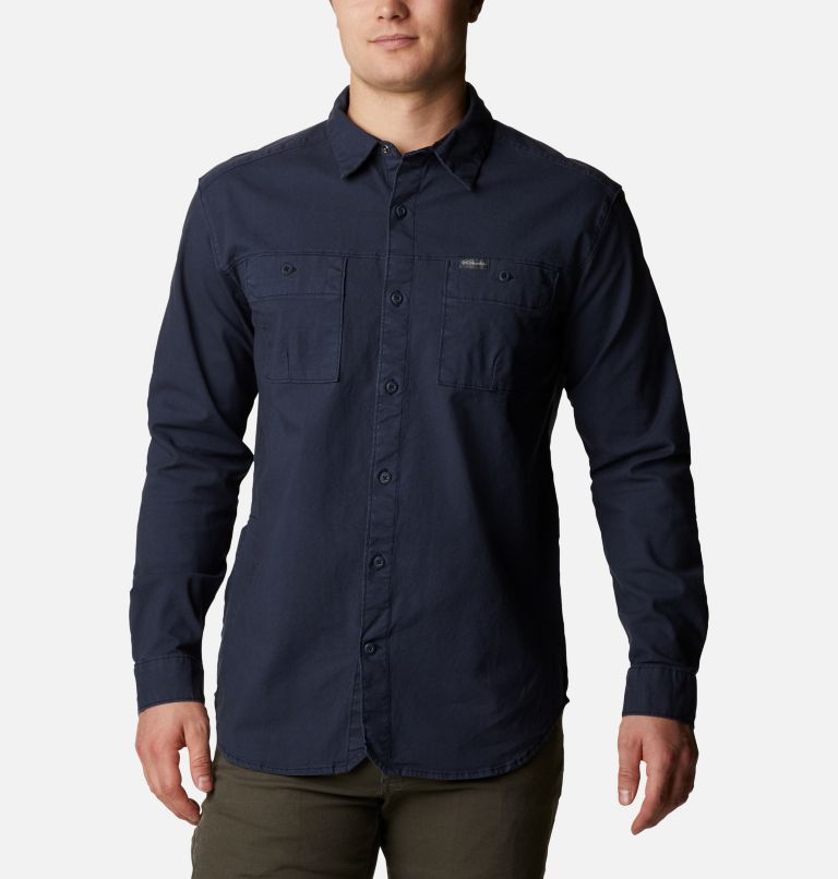 Men's Flare Gun™ Canvas Shirt Men's Flare Gun™ Canvas Shirt, front