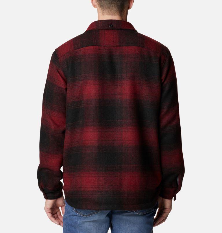 Men's Windward™ Rugged Shirt Jacket Men's Windward™ Rugged Shirt Jacket, back