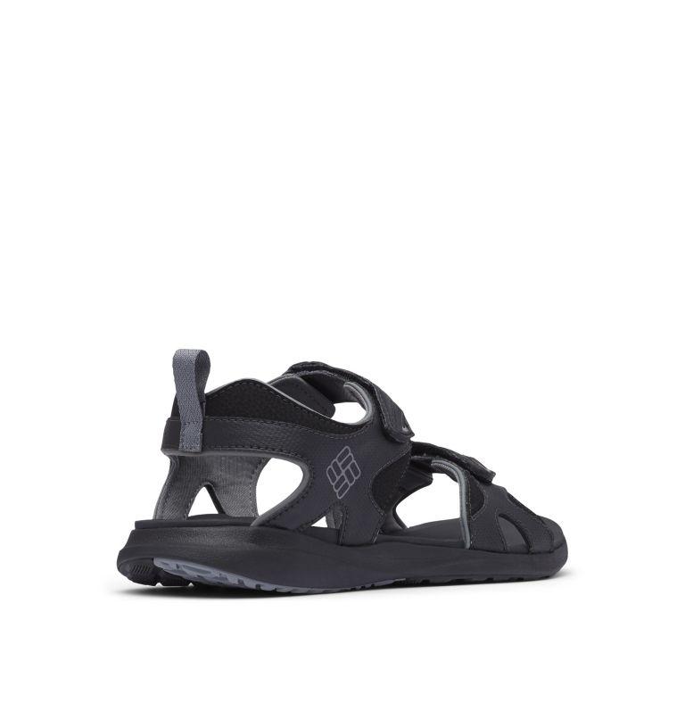 COLUMBIA™ 2 STRAP | 010 | 12 Men's Columbia™ Ankle Strap Sandal, Black, Ti Grey Steel, 3/4 back