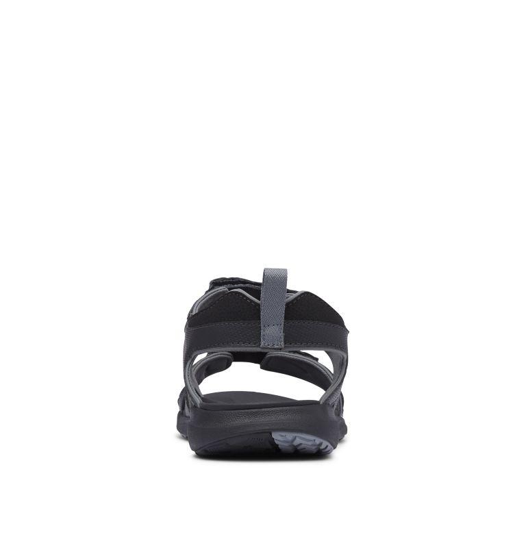 COLUMBIA™ 2 STRAP | 010 | 12 Men's Columbia™ Ankle Strap Sandal, Black, Ti Grey Steel, back
