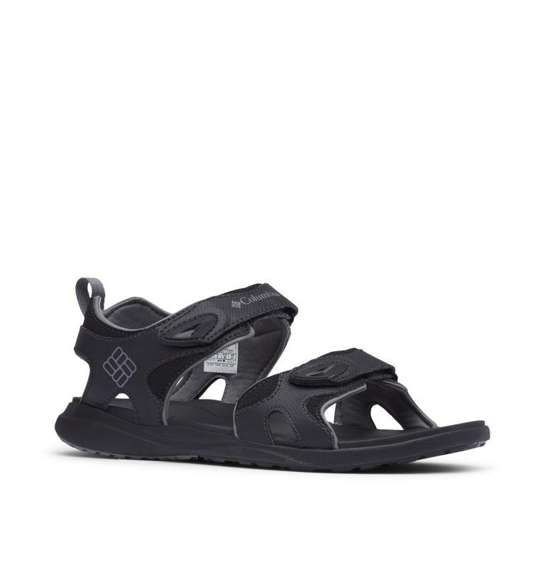 COLUMBIA™ 2 STRAP | 010 | 12 Men's Columbia™ Ankle Strap Sandal, Black, Ti Grey Steel, 3/4 front