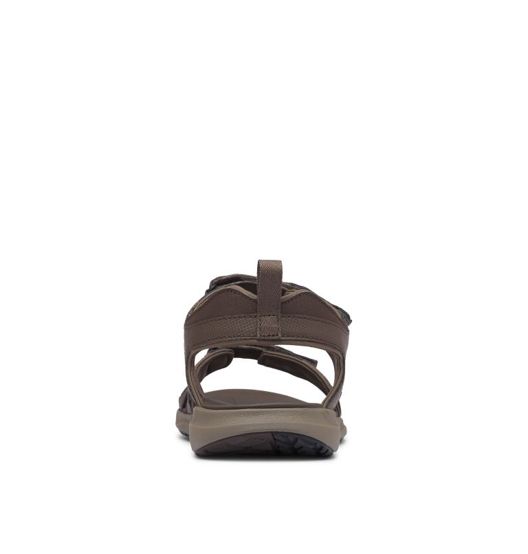 COLUMBIA™ 2 STRAP | 231 | 8 Men's Columbia™ Ankle Strap Sandal, Cordovan, Curry, back
