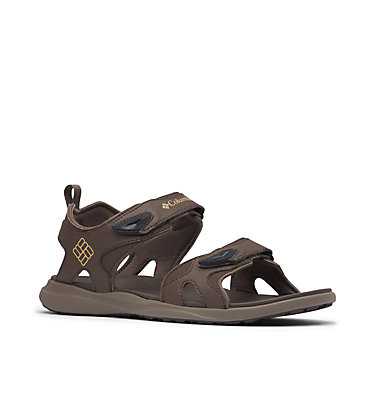 Men's Columbia™ Ankle Strap Sandal COLUMBIA™ 2 STRAP | 231 | 10, Cordovan, Curry, 3/4 front