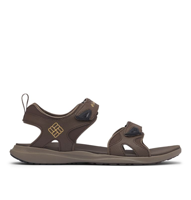 COLUMBIA™ 2 STRAP | 231 | 9 Men's Columbia™ Ankle Strap Sandal, Cordovan, Curry, front
