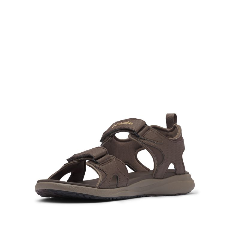 COLUMBIA™ 2 STRAP | 231 | 9 Men's Columbia™ Ankle Strap Sandal, Cordovan, Curry