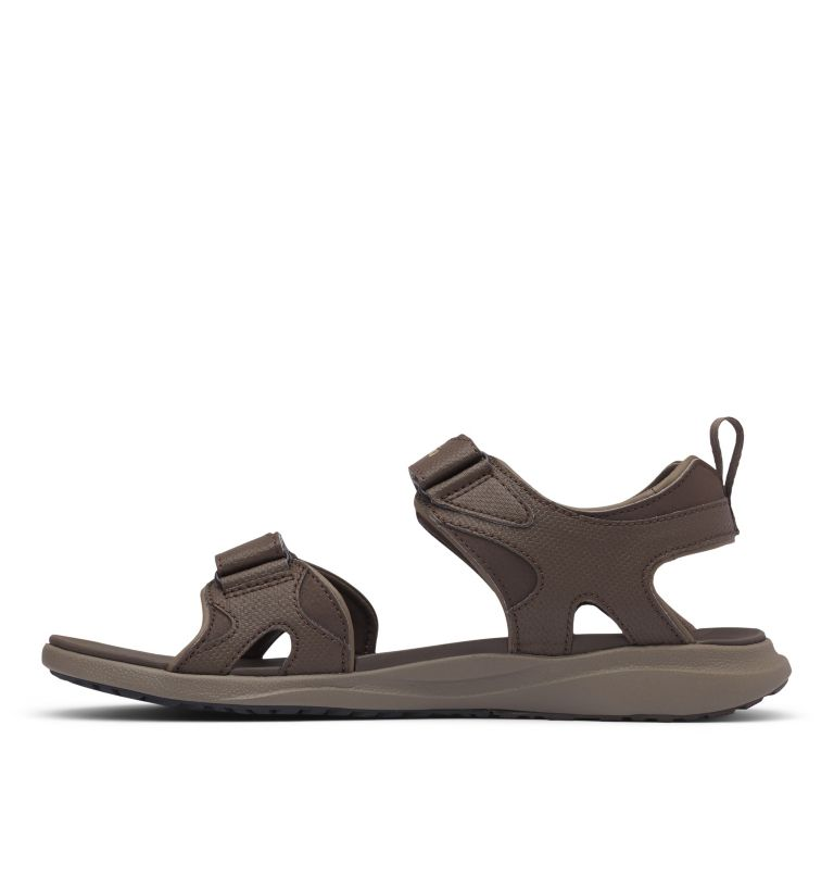 COLUMBIA™ 2 STRAP | 231 | 9 Men's Columbia™ Ankle Strap Sandal, Cordovan, Curry, medial