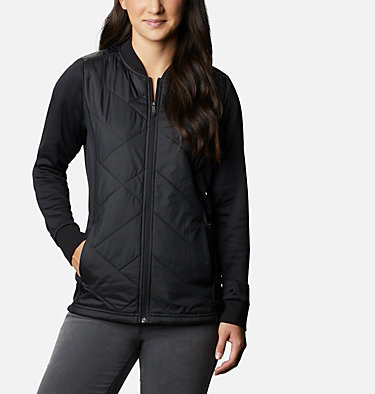 Women's Piney Ridge™ Hybrid Full Zip Jacket Piney Ridge™ Hybrid FZ | 397 | L, Black, front
