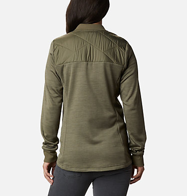 Women's Piney Ridge™ Hybrid Full Zip Jacket Piney Ridge™ Hybrid FZ | 397 | L, Stone Green, back