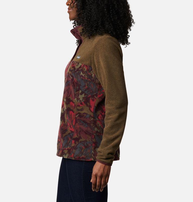 Chandail imprimé en laine polaire avec demi-fermeture à boutons-pression Benton Springs™ pour femme Chandail imprimé en laine polaire avec demi-fermeture à boutons-pression Benton Springs™ pour femme, a1