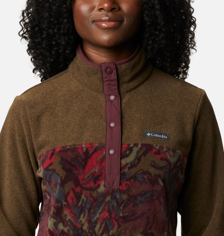 Women's Benton Springs™ Printed Half Snap Fleece Pullover Women's Benton Springs™ Printed Half Snap Fleece Pullover, a2