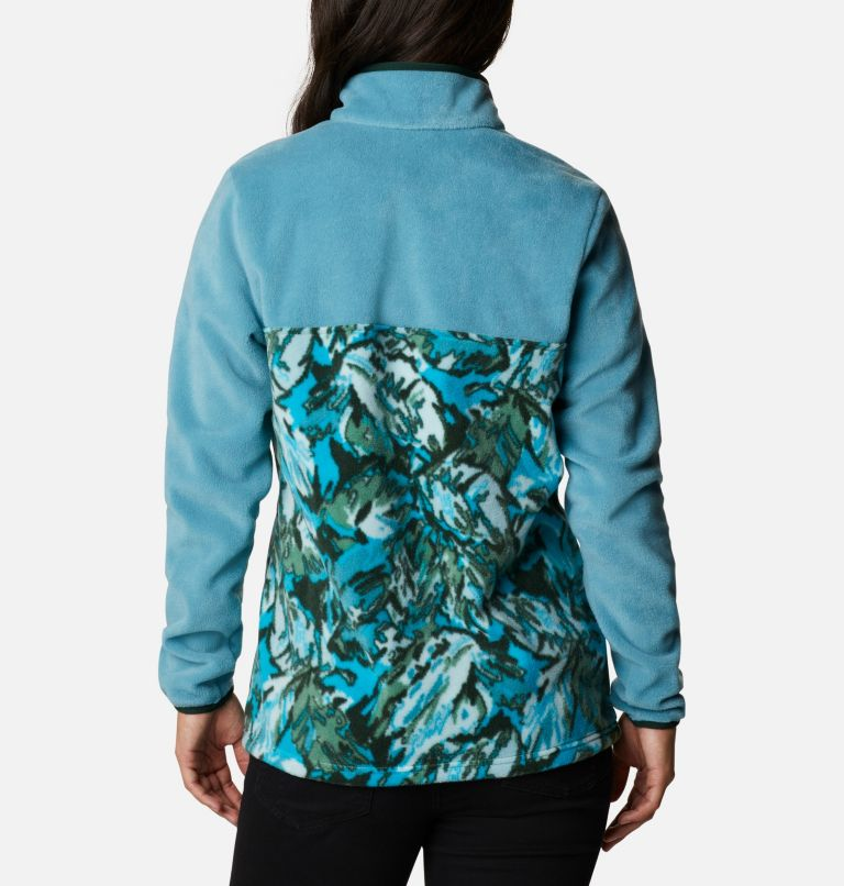 Women's Benton Springs™ Printed Half Snap Fleece Pullover Women's Benton Springs™ Printed Half Snap Fleece Pullover, back