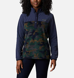 Women's Benton Springs™ Printed Half Snap Fleece Pullover