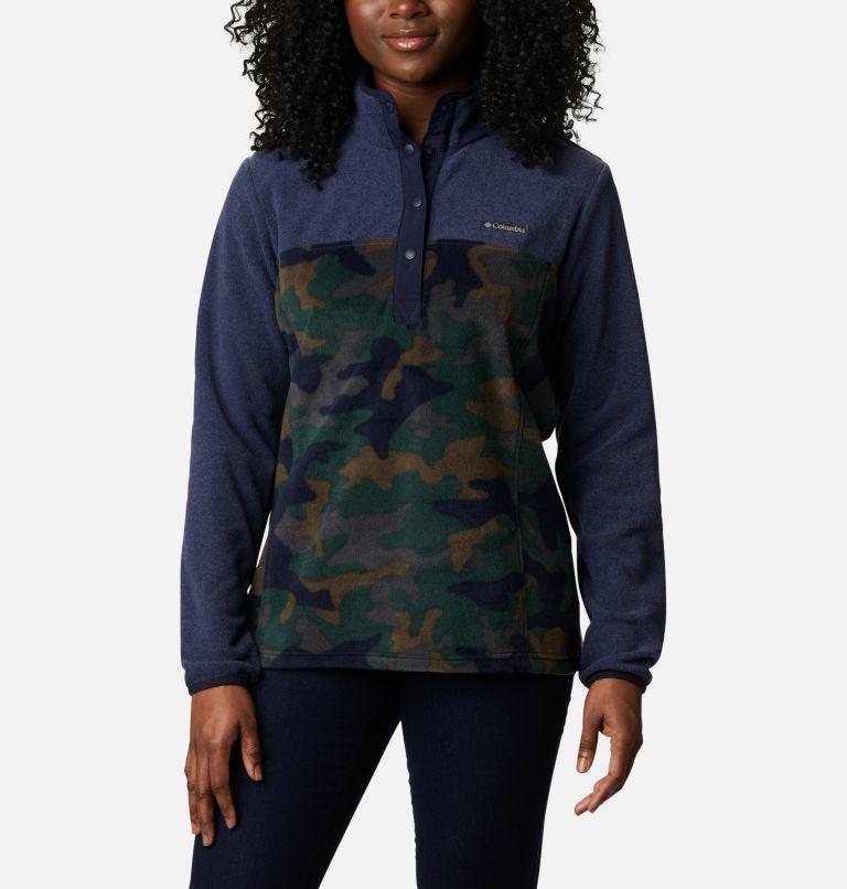 Women's Benton Springs™ Printed Half Snap Fleece Pullover Women's Benton Springs™ Printed Half Snap Fleece Pullover, front