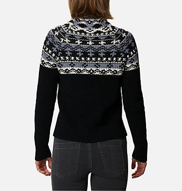Women's Pine Street™ Jacquard Pullover Shirt Pine Street™ Jacquard Pullover | 191 | L, Black Jacquard, back