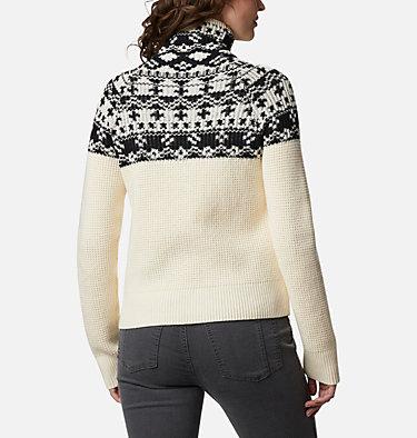 Women's Pine Street™ Jacquard Pullover Shirt Pine Street™ Jacquard Pullover | 191 | L, Chalk Jacquard, back
