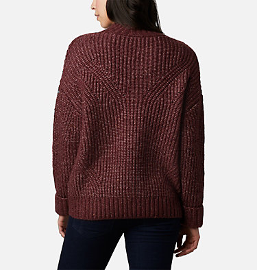 Chandail Pine Street™ pour femme Pine Street™ Sweater | 191 | L, Malbec Heather, back