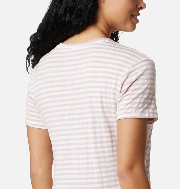 Women's Essential Elements™ Striped Short Sleeve Shirt Women's Essential Elements™ Striped Short Sleeve Shirt, a3