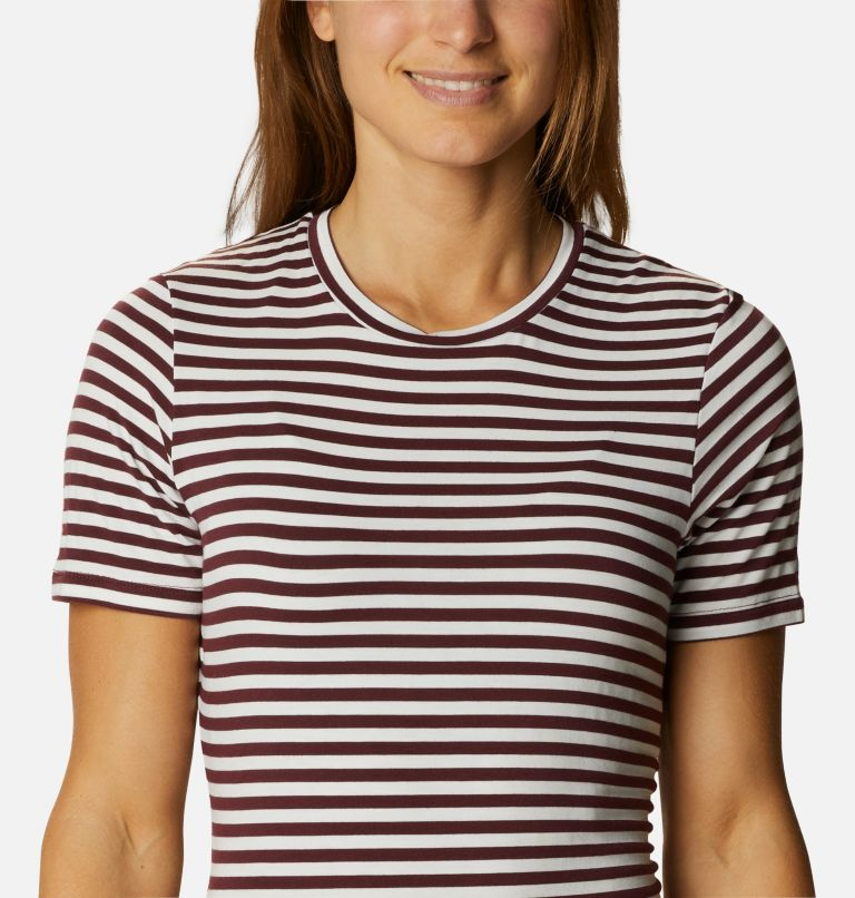 Women's Essential Elements™ Striped Short Sleeve Shirt Women's Essential Elements™ Striped Short Sleeve Shirt, a2