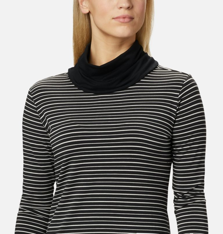 Women's Essential Elements™ Striped Long Sleeve Shirt Women's Essential Elements™ Striped Long Sleeve Shirt, a2
