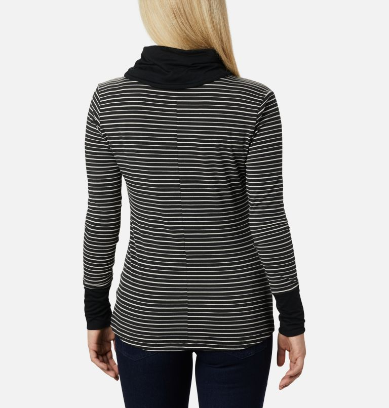 Women's Essential Elements™ Striped Long Sleeve Shirt Women's Essential Elements™ Striped Long Sleeve Shirt, back