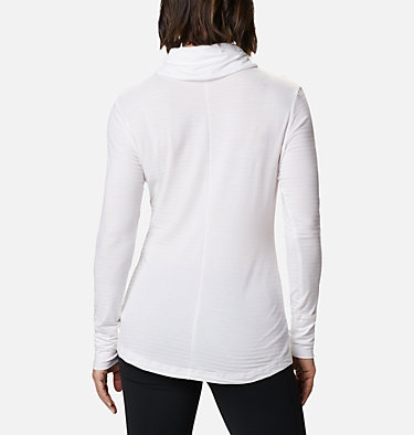 Chandail rayé à manches longues Essential Elements™ pour femme Essential Elements™ Striped LS Shirt | 458 | L, White Stripe, back