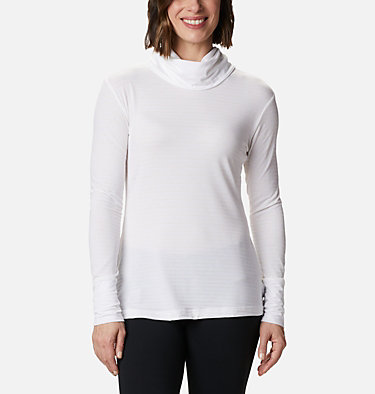 Chandail rayé à manches longues Essential Elements™ pour femme Essential Elements™ Striped LS Shirt | 458 | L, White Stripe, front