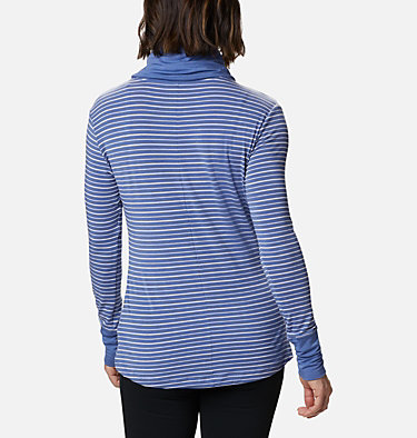 Chandail rayé à manches longues Essential Elements™ pour femme Essential Elements™ Striped LS Shirt | 458 | L, Velvet Cove Stripe, back