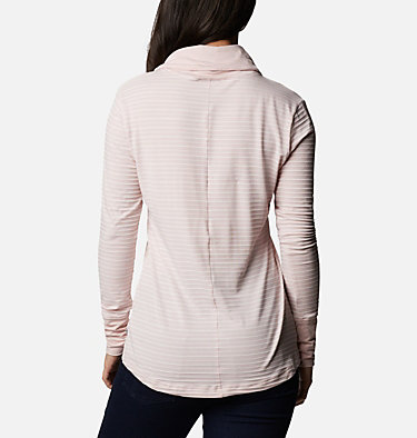 Chandail rayé à manches longues Essential Elements™ pour femme Essential Elements™ Striped LS Shirt | 458 | L, Mineral Pink Stripe, back
