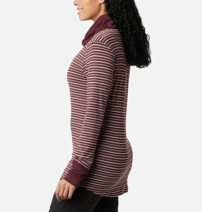 Women's Essential Elements™ Striped Long Sleeve Shirt Women's Essential Elements™ Striped Long Sleeve Shirt, a1