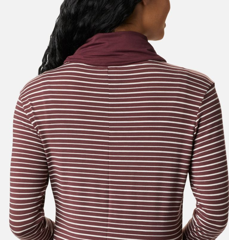 Women's Essential Elements™ Striped Long Sleeve Shirt Women's Essential Elements™ Striped Long Sleeve Shirt, a3