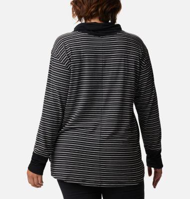 Women's Essential Elements™ Striped Long Sleeve Shirt - Plus Size | Columbia Sportswear