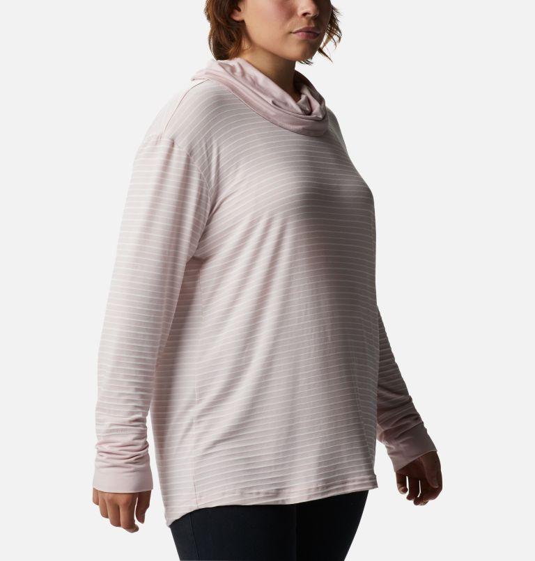 Women's Essential Elements™ Striped Long Sleeve Shirt - Plus Size Women's Essential Elements™ Striped Long Sleeve Shirt - Plus Size, a3