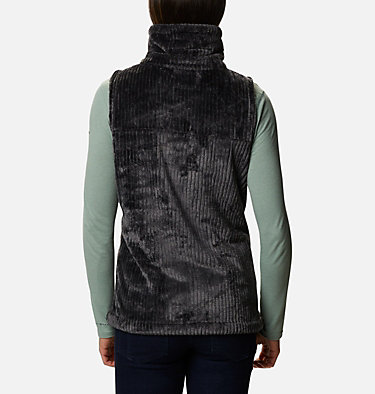 Women's Fire Side™ Sherpa Vest Fire Side™ Sherpa Vest | 191 | L, Shark Stripe, back