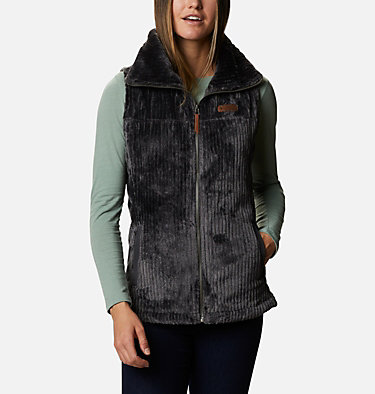 Women's Fire Side™ Sherpa Vest Fire Side™ Sherpa Vest | 191 | L, Shark Stripe, front
