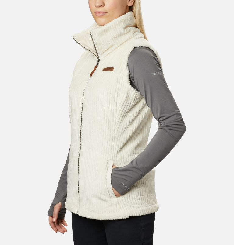Fire Side™ Sherpa Vest | 191 | S Women's Fire Side™ Sherpa Vest, Chalk Stripe, a1